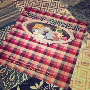 Disney Alice in wonderland record
